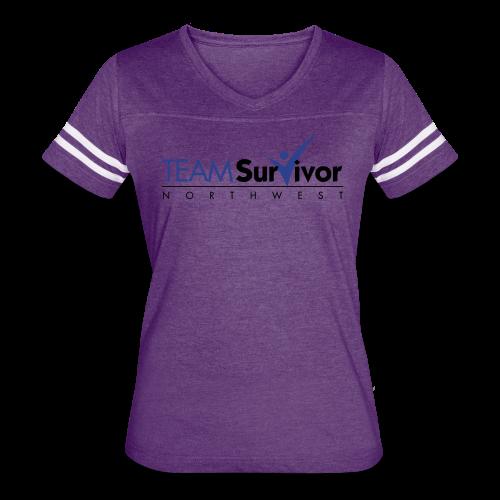 TSNW logo - Women's Vintage Sport T-Shirt