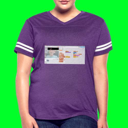 the only jendder is boy - Women's Vintage Sport T-Shirt