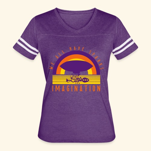 We All Have Sparks - Women's Vintage Sports T-Shirt