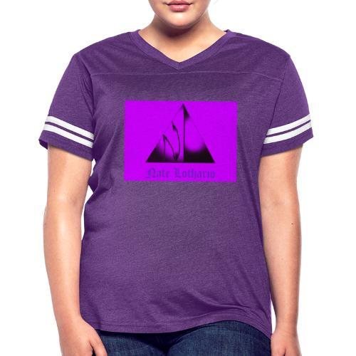 Purple Logo 2 - Women's Vintage Sport T-Shirt