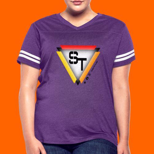SarinTal Logo - Women's Vintage Sport T-Shirt