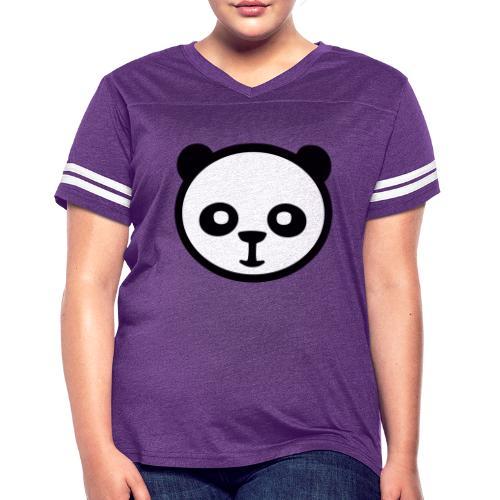 Panda bear, Big panda, Giant panda, Bamboo bear - Women's Vintage Sport T-Shirt