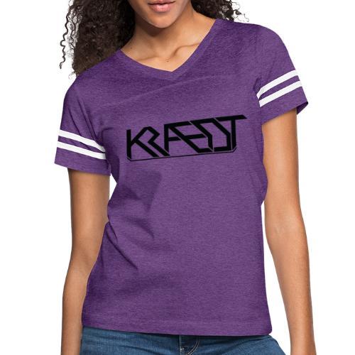 Kraedt Logo (Black) - Women's Vintage Sport T-Shirt