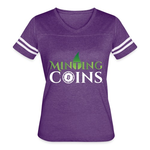 Minting Coins - Women's Vintage Sports T-Shirt