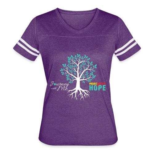 JWM PGH TEAL MONTH - Women's Vintage Sport T-Shirt