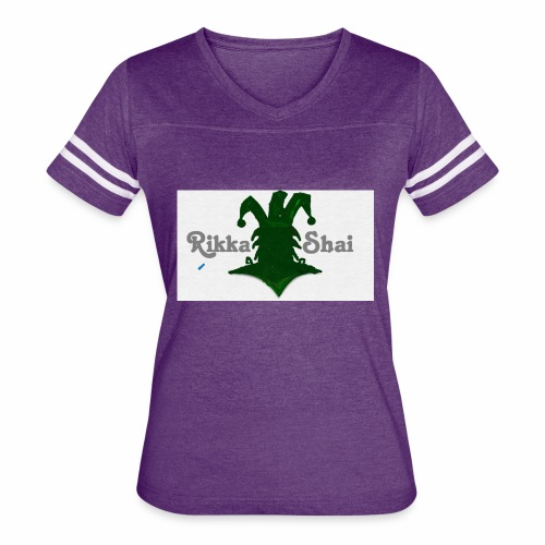 Rikka Shai LOCO LOGO - Women's Vintage Sport T-Shirt