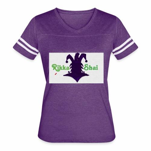 Rikka Shai Electric Logo - Women's Vintage Sport T-Shirt