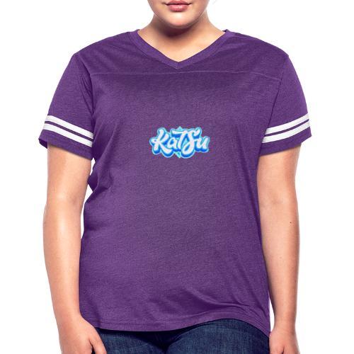 KatSu Logo - Women's Vintage Sport T-Shirt