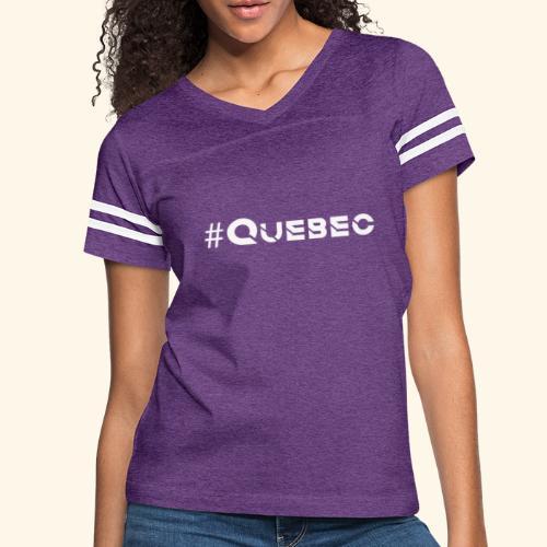 québec doux - T-shirt sport rétro pour femmes
