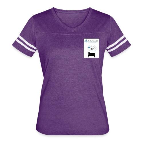 RxSleep Science complete logo - Women's Vintage Sport T-Shirt