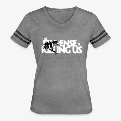 Suspense Is Killing Us Black Eye Logo - Women's Vintage Sport T-Shirt
