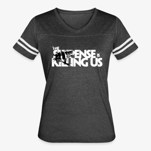 Suspense Is Killing Us Black Eye Logo - Women's Vintage Sport T-Shirt