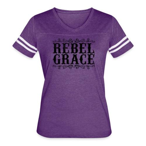 Black Filigree - Women's Vintage Sport T-Shirt