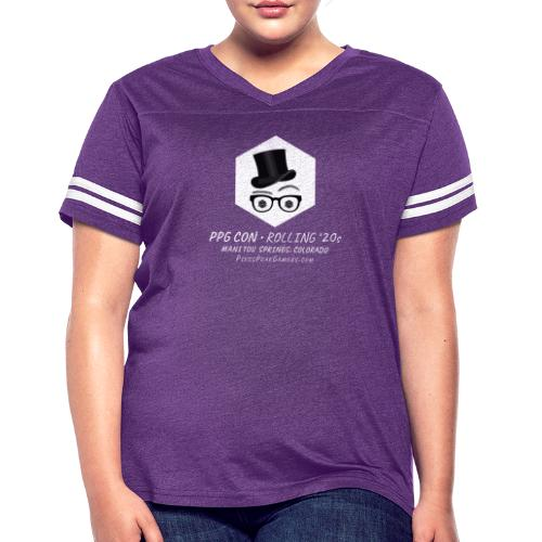 Pikes Peak Gamers Convention 2020 - Women's Vintage Sports T-Shirt