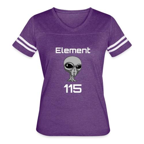 Element 115 Moscovium Alien Fuel - Women's Vintage Sport T-Shirt