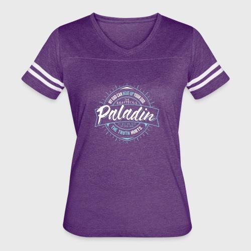 Paladin Class Fantasy RPG Gaming - Women's Vintage Sport T-Shirt