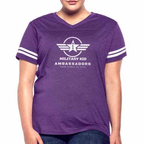 Military Kid Ambassador White - Women's Vintage Sport T-Shirt