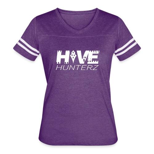 White Hive Hunterz Logo - Women's Vintage Sport T-Shirt