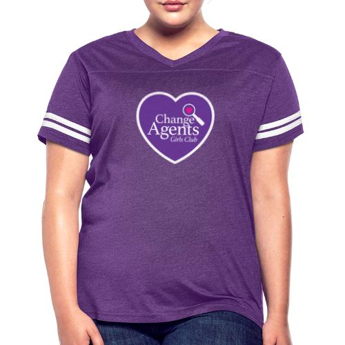 Change Agents Girls Club - Women's Vintage Sport T-Shirt