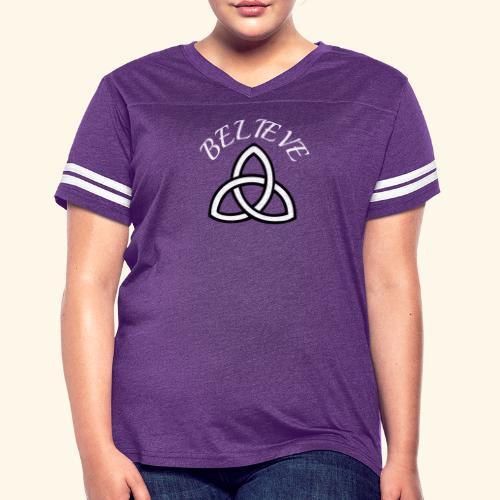 celtic pride believe TEE - Women's Vintage Sport T-Shirt