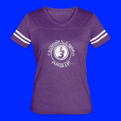 Vintage Cannonball Bingo Ball Tee - Women's Vintage Sport T-Shirt