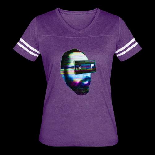 Spaceboy Music - Glitched - Women's Vintage Sport T-Shirt