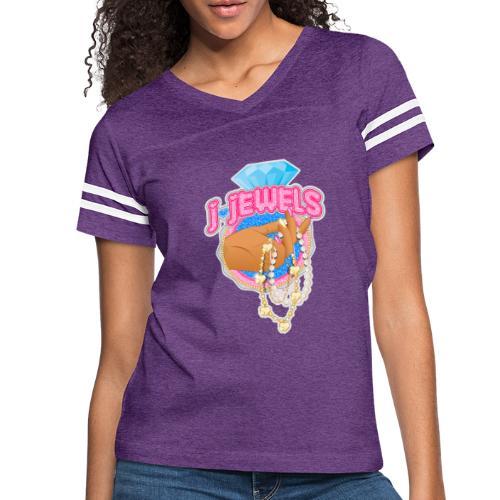 JJ Logo - Women's Vintage Sports T-Shirt