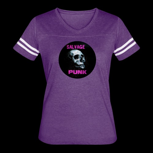 Salvage Punk Shirt 3d - Women's Vintage Sport T-Shirt