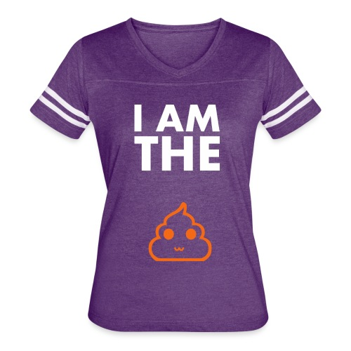 I am the shit T-shirt - Women's Vintage Sport T-Shirt