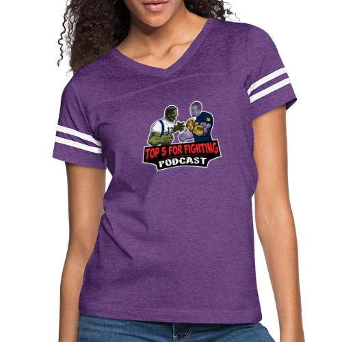 Top 5 for Fighting Logo - Women's Vintage Sport T-Shirt