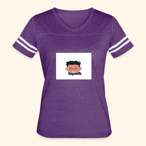 weiweigang logo edit - Women's Vintage Sport T-Shirt