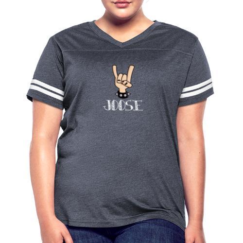 JOOSE HORNS - Women's Vintage Sport T-Shirt