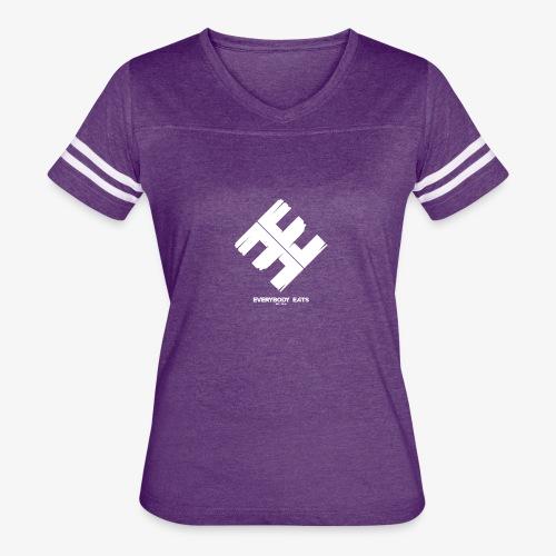Everybody Eats Official Logo - Women's Vintage Sport T-Shirt
