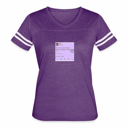 Idc anymore - Women's Vintage Sport T-Shirt
