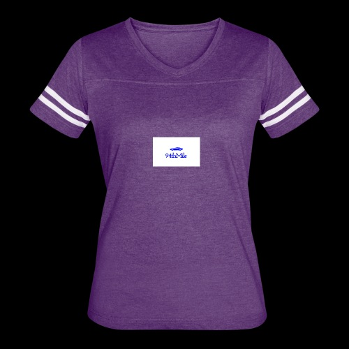 Blue 94th mile - Women's Vintage Sport T-Shirt