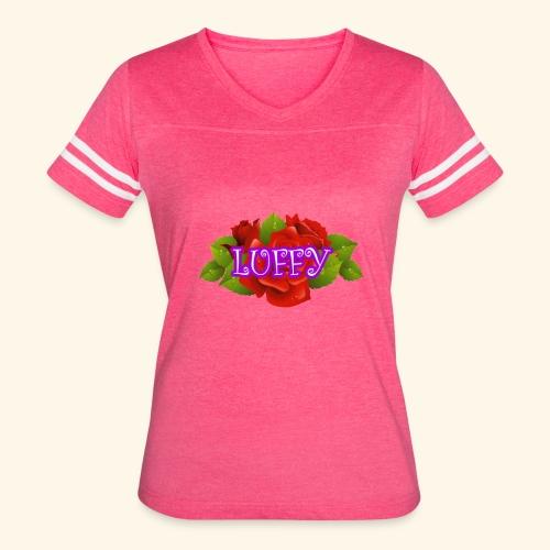 flower Luffy - Women's Vintage Sport T-Shirt