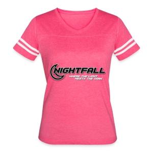 NightFall w/ Slogan - Women's Vintage Sport T-Shirt