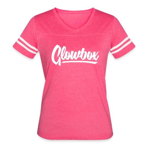 Glowbox Cursive - Women's Vintage Sport T-Shirt