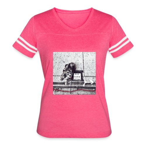 No Curb Sitting - Women's Vintage Sport T-Shirt