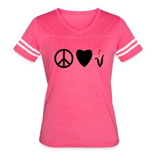 Peace Love Cornfields - Women's Vintage Sport T-Shirt