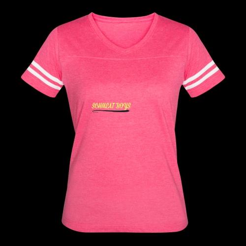Schmeat Boys Logo - Women's Vintage Sport T-Shirt