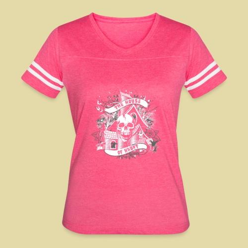 hoh_tshirt_skullhouse - Women's Vintage Sport T-Shirt