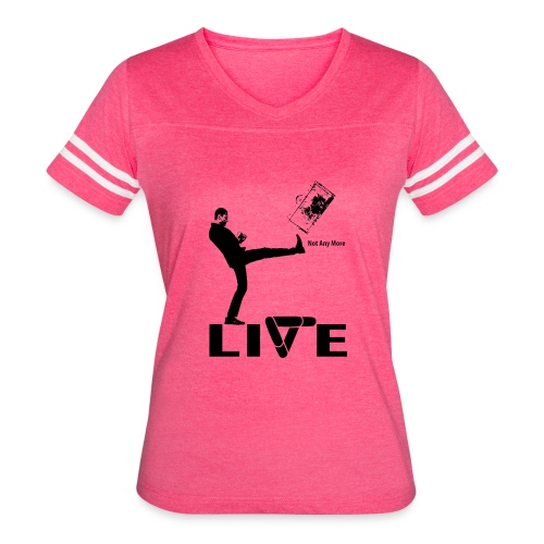 live - Women's Vintage Sport T-Shirt
