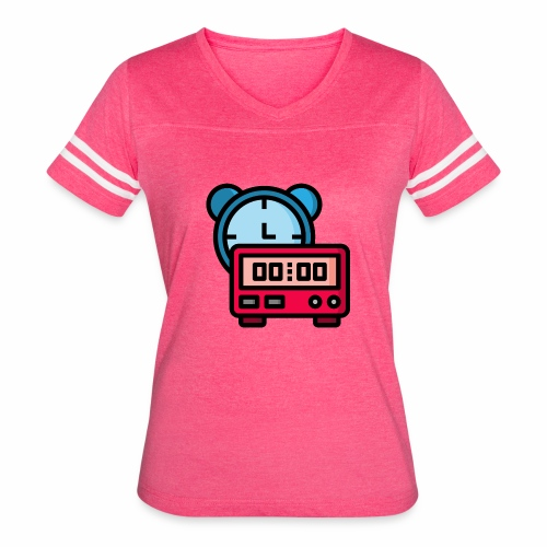 clock timer - Women's Vintage Sport T-Shirt