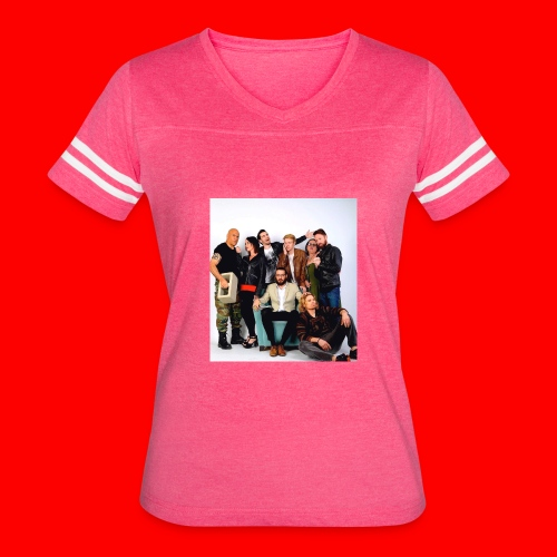Savage Family Christmas Card - Women's Vintage Sport T-Shirt