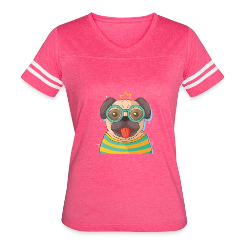 Dog in glass - Women's Vintage Sport T-Shirt