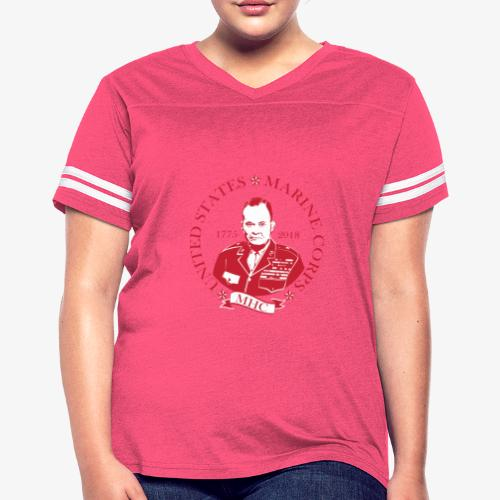 Chesty - Red - Women's Vintage Sport T-Shirt