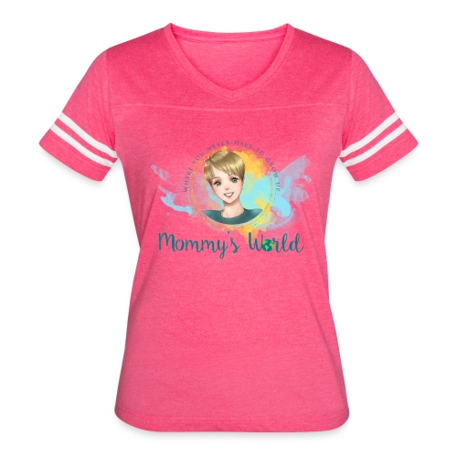 Mommys World Alternate Logo - Women's Vintage Sport T-Shirt