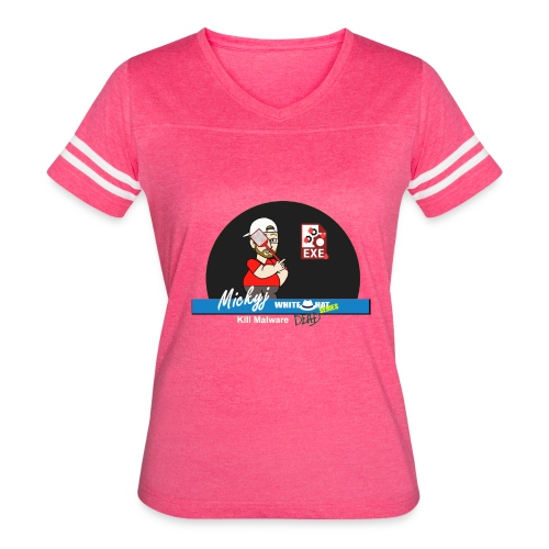Mickyj - Kill malware dead (Red) - Women's Vintage Sport T-Shirt