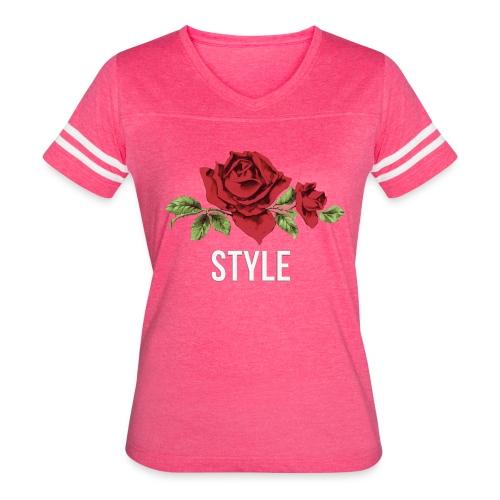 ROSE - NEWSTyLE - Women's Vintage Sport T-Shirt